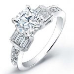 Daisy – Round Solitaire Diamond Ring