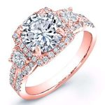 Erica – Round Halo Diamond Ring