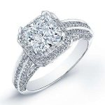 Buttercup – Princess Halo Diamond Ring