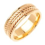 18k 2-yellow Gold Wedding Band Ring