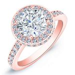 Quince – Round Halo Diamond Ring